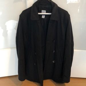 Gap Pea Coat - Black